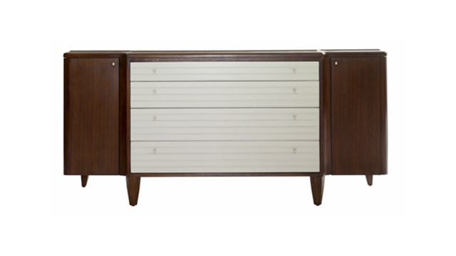 Reeded Console