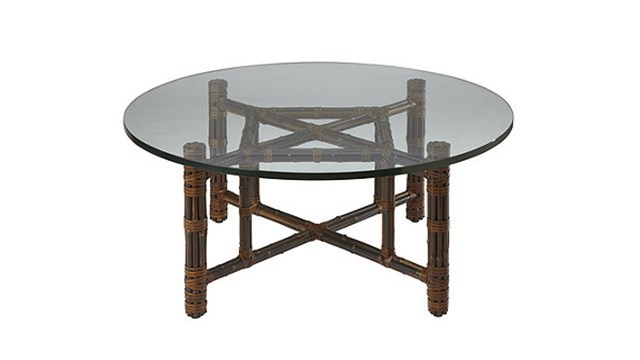 Black Bamboo Dining Table