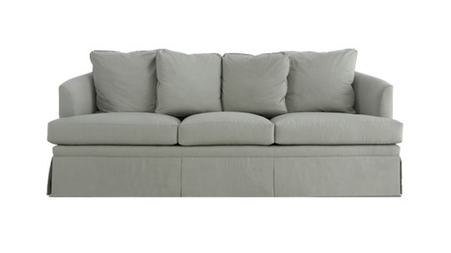 Skirted Elegance Sofa