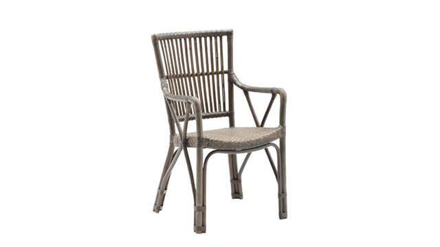 Piano Rattan Dining Chair