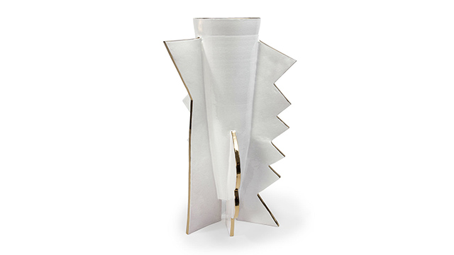 Abstract Zig Zag Large  Vase
