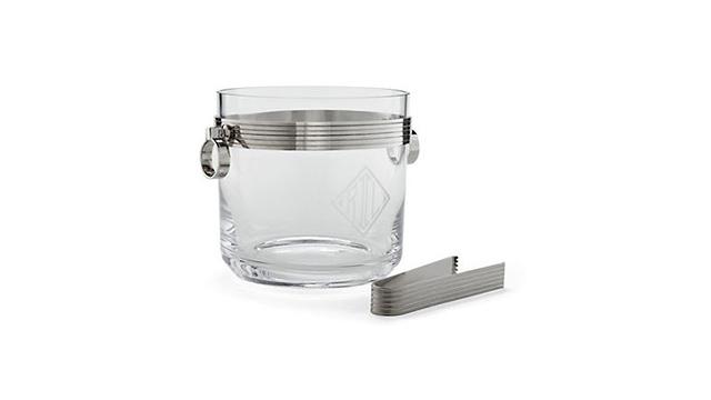 Bentley Ice Bucket with Tongs