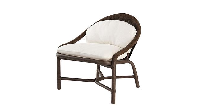 Bassam Fellows Crescent Lounge Chair