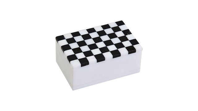 Mini Checkered Box