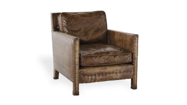 Nail Head Club Chair