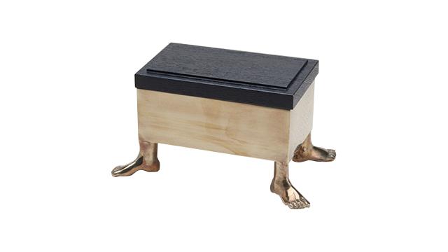 Narcissus  Rectangular  Box