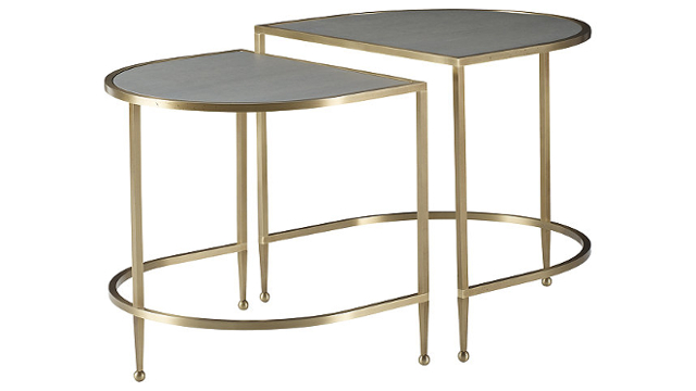 Iron Eye Nesting Tables