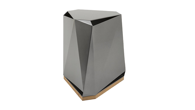 Steven Volpe Coburg Faceted Side Table
