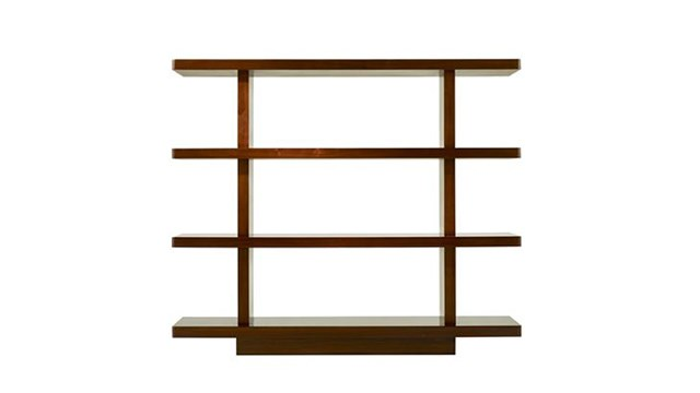 Broad Stroke Bookshelves