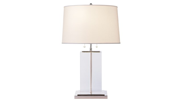 Block Large Crystal Table Lamp
