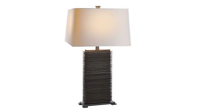 Convector Rectangular Table Lamp