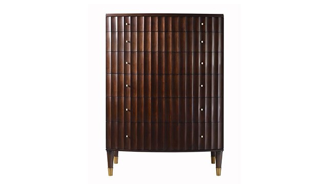 Fluted Tall Chest