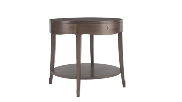 Skirted End Table