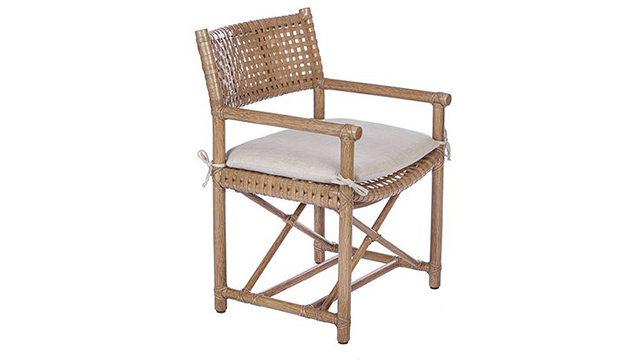 Antalya Laced Rawhide Arm Chair