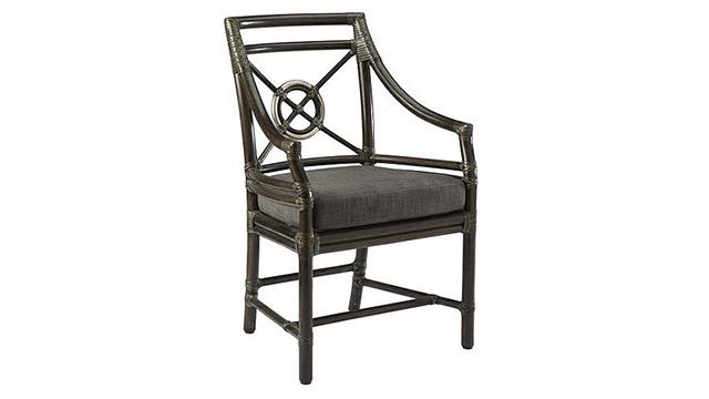 Rattan Target Arm Chair