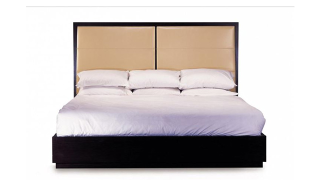 Kata Sho King Bed Upholstered Headboard