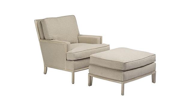 Boxback Lounge Chair