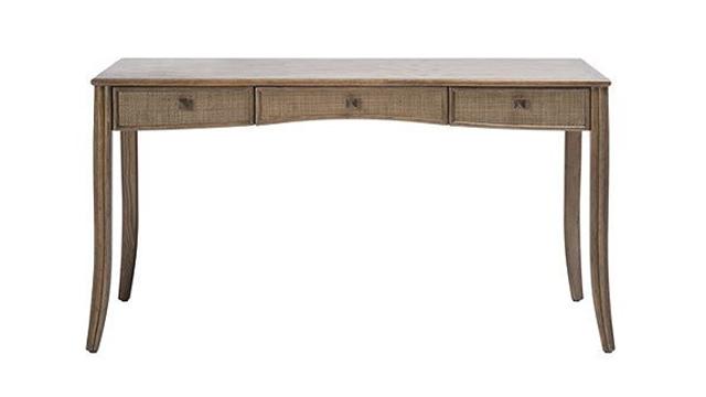 Caned Desk