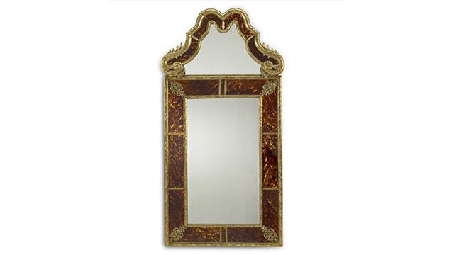 Victorian Falls Venetian mirror