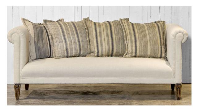 Rolled Back Sofa