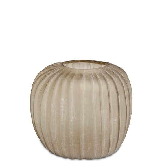 Manakara Vase Round