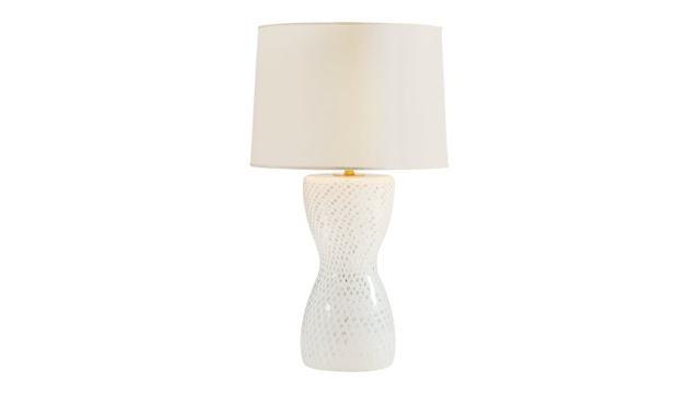 Hourglass Ribbon Lamp