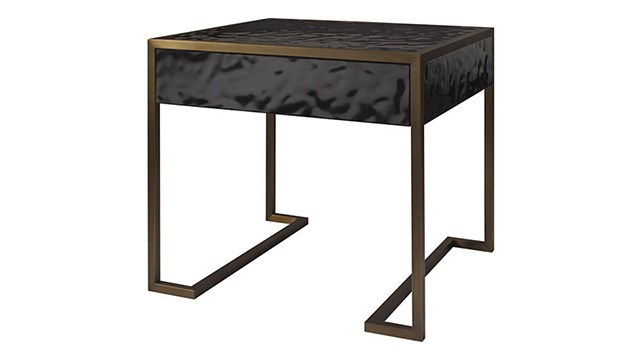 STRAIGHT UP SIDE TABLE