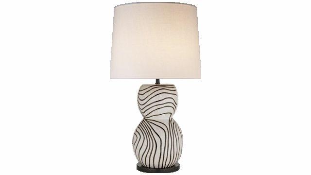 Balla Large Hand-Painted Lamp