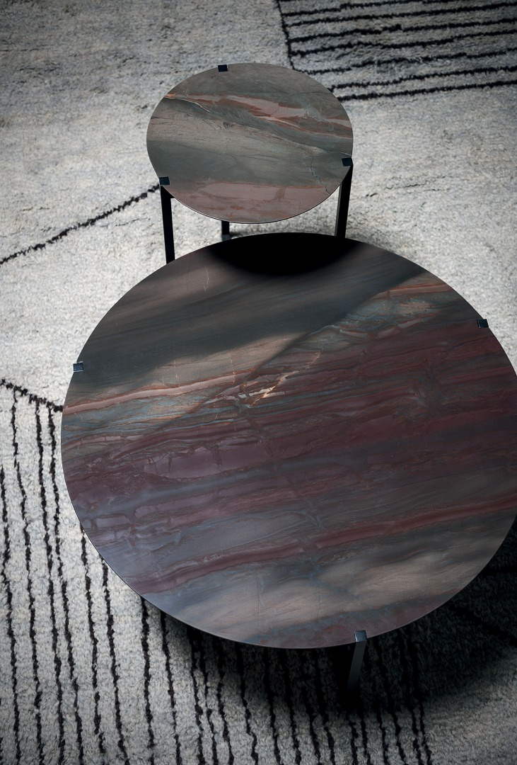 Icaro Marble Table 70cm