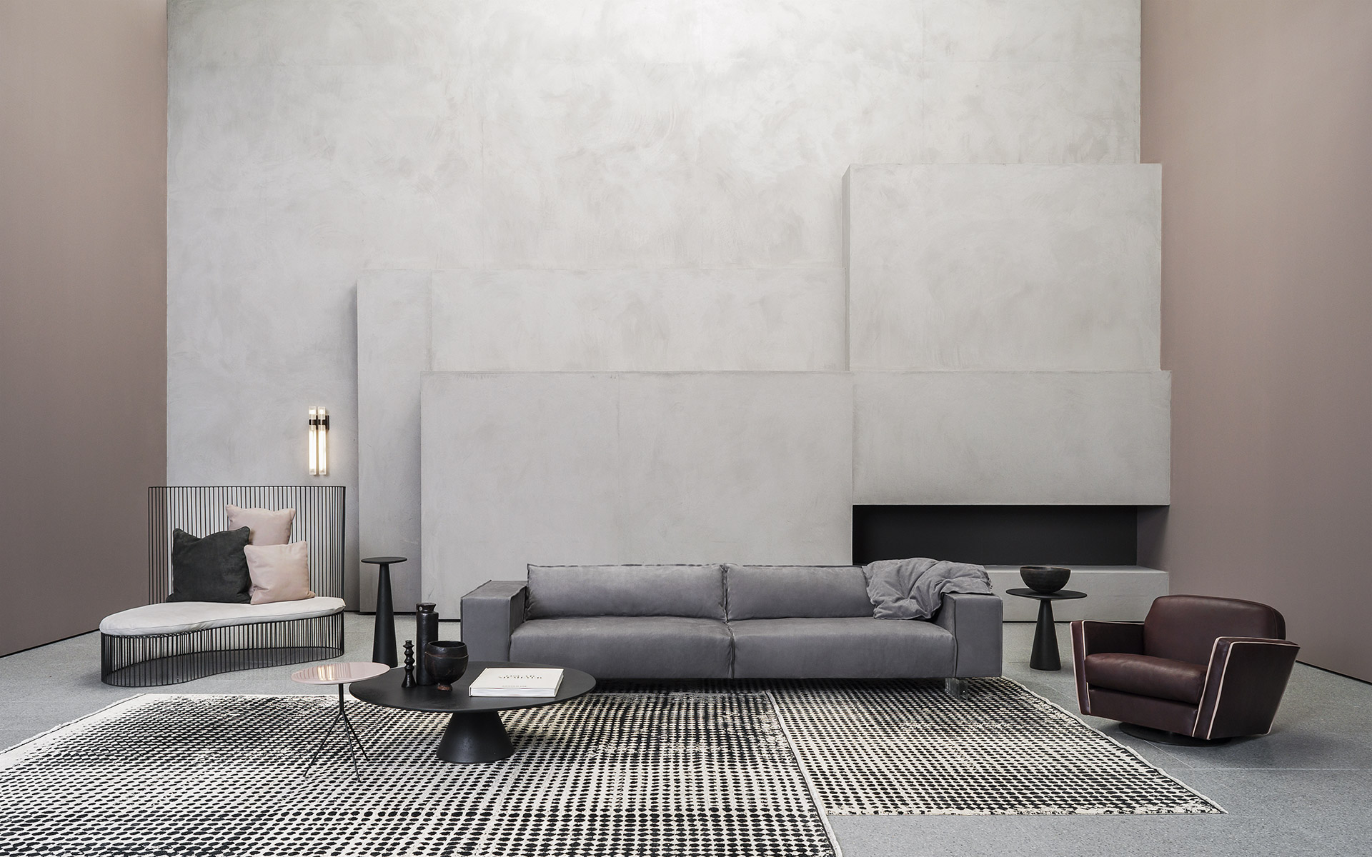 Budapest Air Leather Sofa