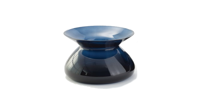 Chic Collar Vase - Midnight Blue - Small