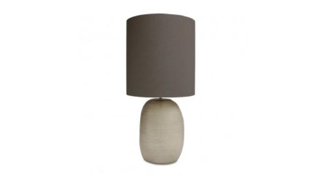Patara Table Lamp Tall Smoke Grey