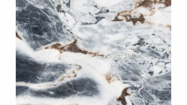 Lagos Dining Table - Ocean Storm Marble