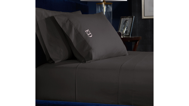 Percale Sheets - Modern Charcoal
