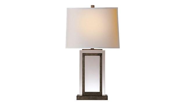 Crystal Panel Table Lamp