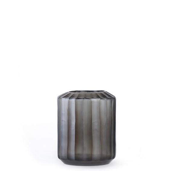 Omar Small Indigo/Smoke Grey Vase