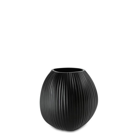 Nagaa Medium Black Vase