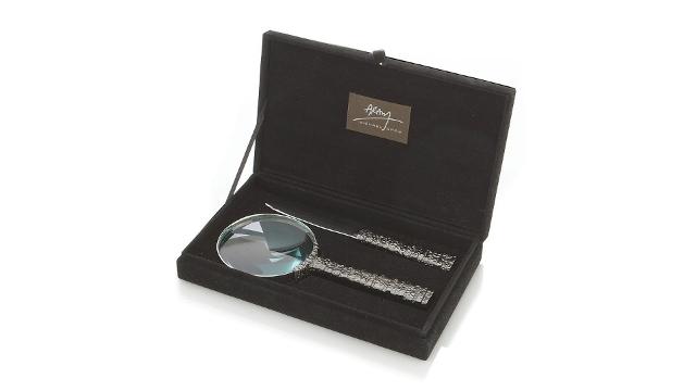 Gotham Magnifying Glass & Letter Opener Set