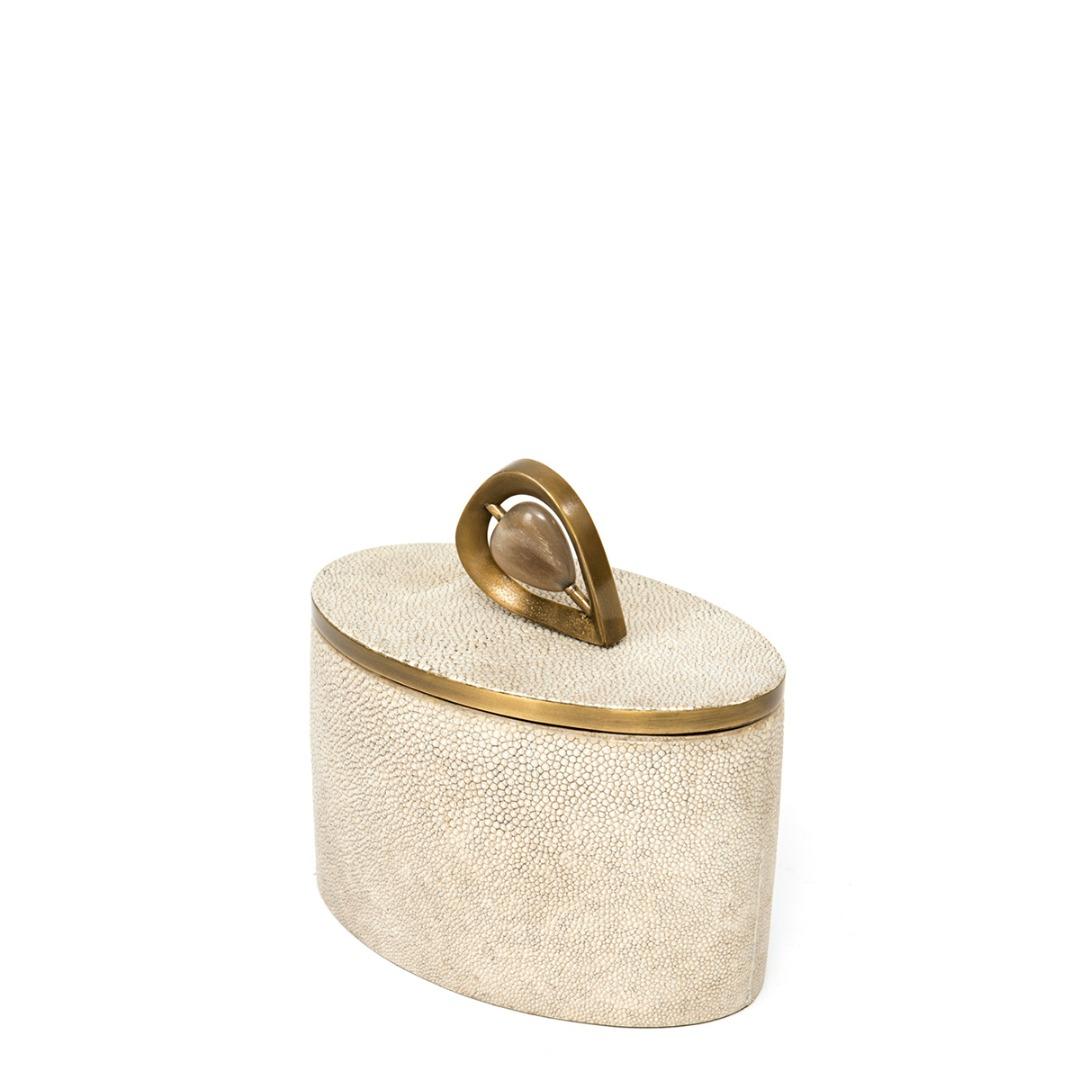 Oval Cannister Teardrop Knob