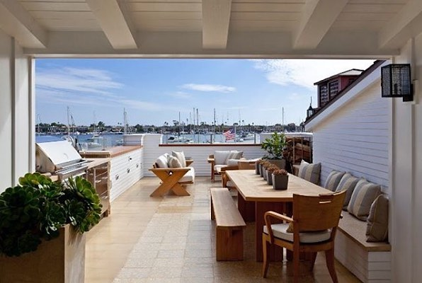 Harbourside serenity