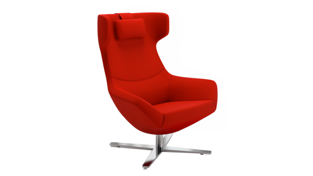 Bing Wing Back Luxe Lounge Chair