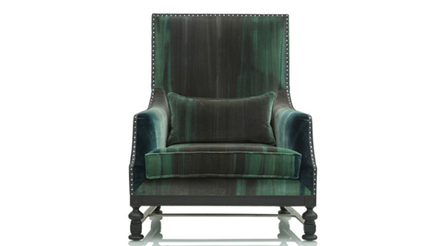Vanhamme High Back King Armchair