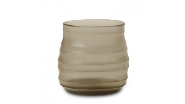 Mathura Vase Small Smoke Grey