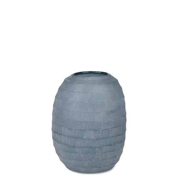Belly Vase XL (Indigo)