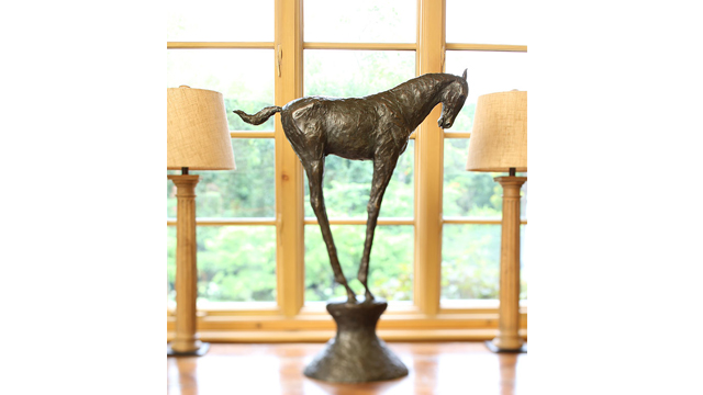 Horse Study #3 Bronze Sculpture
