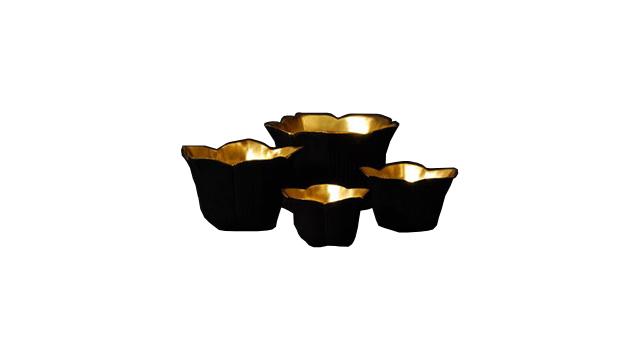 Hasu Gold Bowl