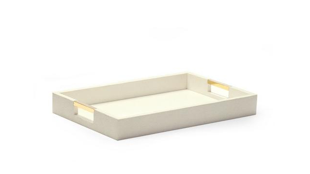 Modern Shagreen Desk Tray