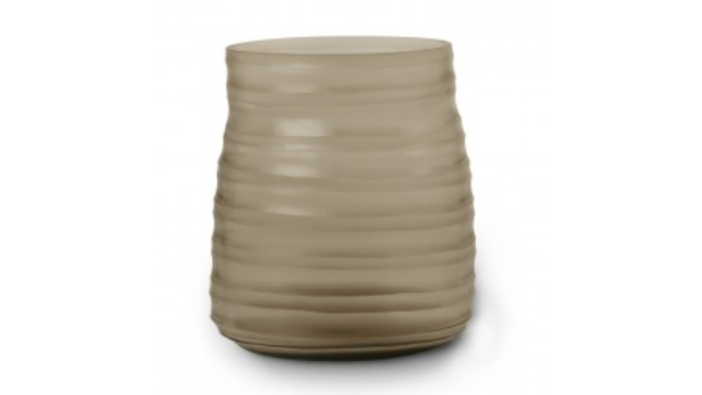 Mathura Vase Medium Smoke Grey
