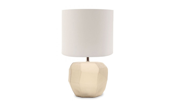 Cubistic Round Table Lamp
