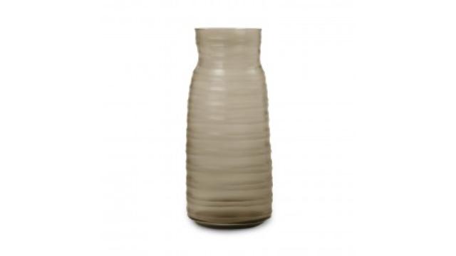 Mathura Vase Tall Smoke Grey